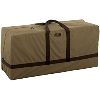 Classic Accessories Hickory Heavy Duty Patio Cushion U0026 Cover Storage Bag    Durable And Water Resistant Patio Storage (55 211 012401 EC)