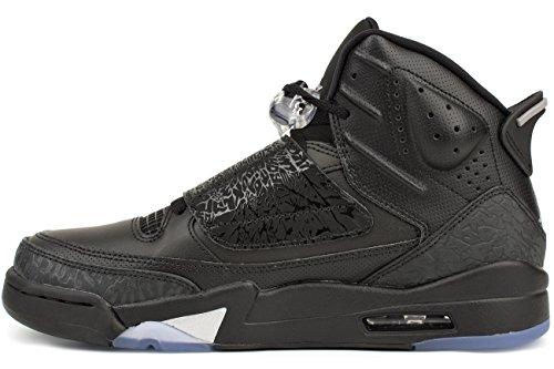 Jordan Nike Männer Air Son Of Mars Basketballschuhe Schwarz / Metallic Silber