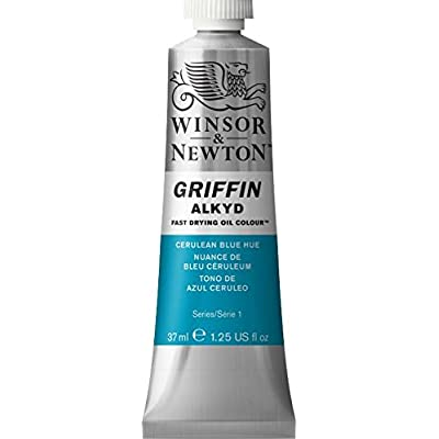 Griffin Alkyd Fast Drying Oil, 37ml Tube, Cerulean Blue Hue: Arts, Crafts & Sewing