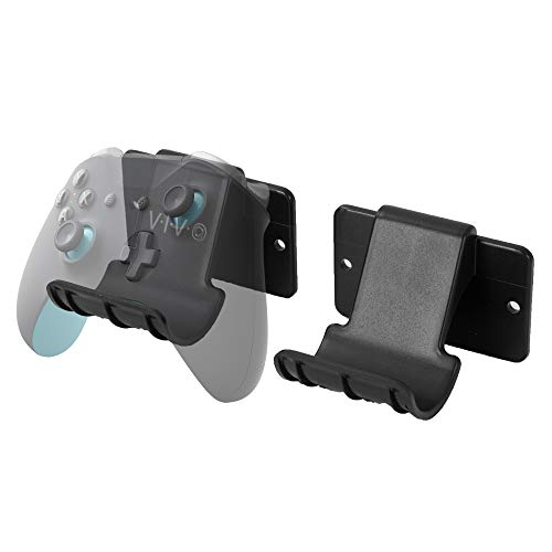 VIVO Universal Video Game Controller Wall Mount Holders | Compatible with Playstation, Xbox, NVIDIA, Nintendo Switch Controllers, and More (2 Pack) (MOUNT-GM01C)