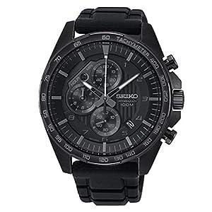 Seiko Analog Black Dial Men's Watch-SSB327P1
