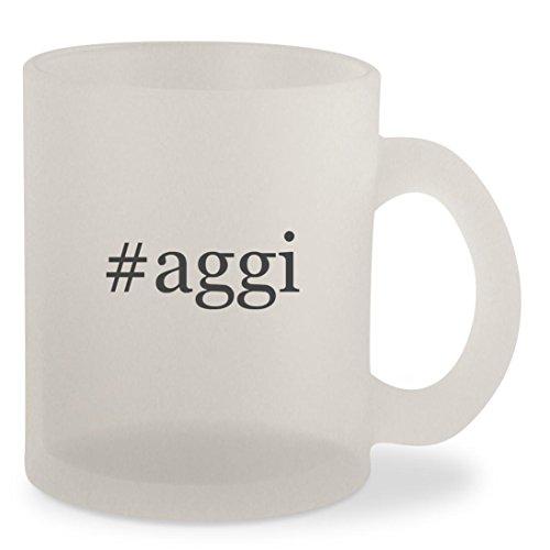 #aggi - Hashtag Frosted 10oz Glass Coffee Cup Mug