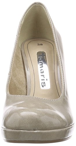 Tamaris Women's 22426 Platform Heels Brown (Pepper Patent 329) 55CdYt8aTt
