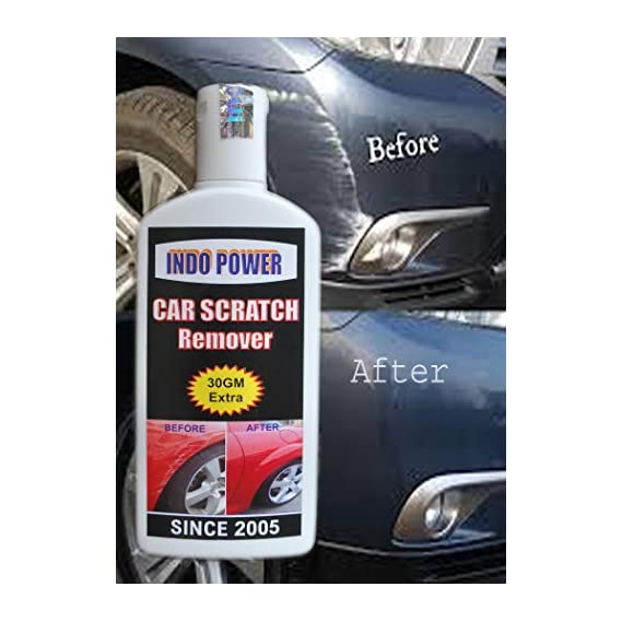 INDOPOWER HDDDd961-CAR Scratch Remover 100gm. All Colour Car & Bike Scratch Remover (Not for Dent & Deep Scratches).