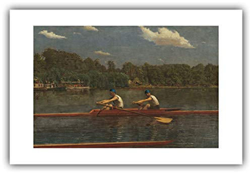 Renfield's Fine Art - Thomas Eakins : ''The Biglin Brothers Racing'' (1872) — Giclee Fine Art Print