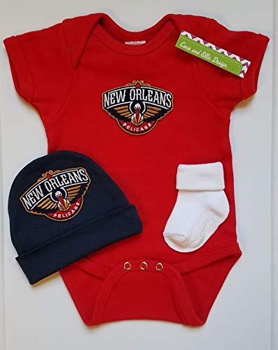 New Orleans Pelican Baby Clothes Pelicans Baby Clothes