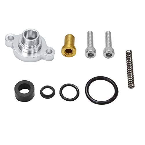 Kit Injection Fuel Update (Fuel Pressure Regulator Billet Valve Cap Spring Kit Fit for 1999-2003 Ford 7.3L Powerstroke Diesel)