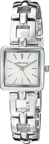Silver Tone Open Link Watch (Anne Klein Women's AK/2823SVSV Silver-Tone Open Link Bracelet Watch)