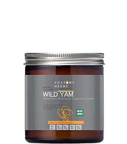 Wild Yam Women's Hormonal Support Cream, (Natural Menopause Support) -