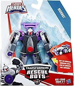 Rh Stock (Morbot The Robot to Racecar Playskool Heroes Transformers