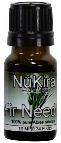 Fir Needle Essential Oil (Abies sibirica) Therapeutic Grade By NuKira (10 ml) by NuKira