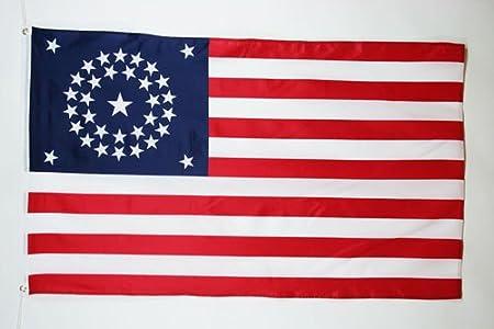 FLAGGE USA SCHWARZ UND WEIß 150x90cm VEREINIGTEN STAATEN VON AMERIKA FAHNE  90