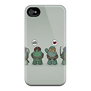 Anti-Scratch Hard Cell-phone Case For Iphone 6plus (NKU15303SeMp) Customized Colorful Funny Tmnt Teenage Mutant Ninja Turtles Pattern