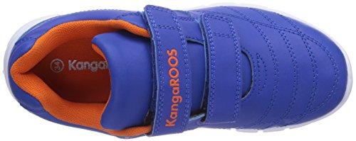 KangaROOS BlueRun 2081 Jungen Sneakers Blau (royal blue/orange 476)