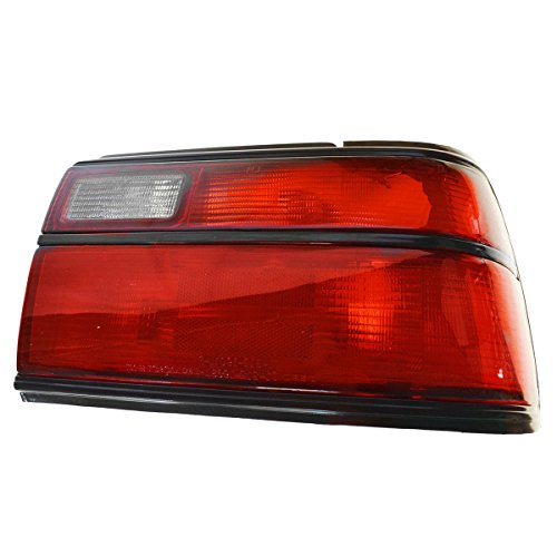 1989 89 Rh Tail Light (Taillight Taillamp Red Signal Passenger Side Right RH for 88-92 Corolla Sedan)