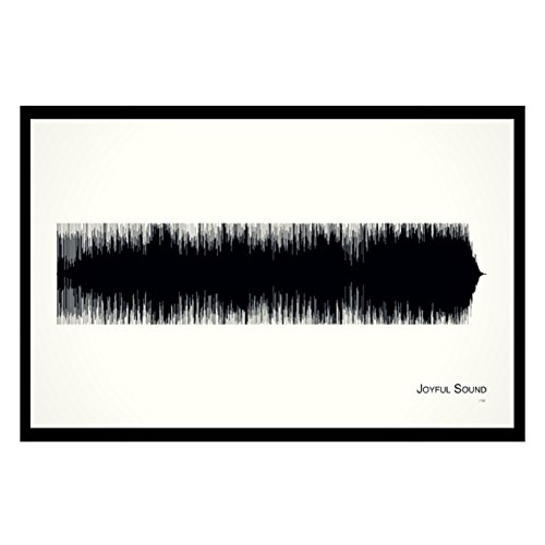 joyful-sound-11x17-framed-soundwave-print