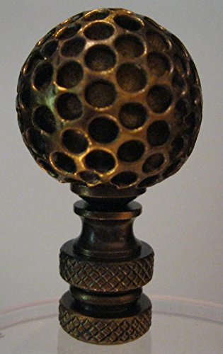Golf Ball Lamp Finial Antique product image