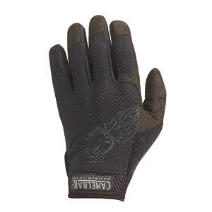 CamelBak Black Vent Gloves with Logo (X-Small)