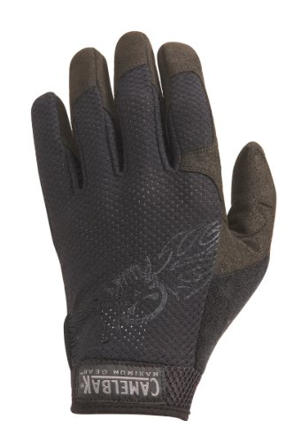 CamelBak Black Vent Gloves with Logo (Small), Outdoor Stuffs