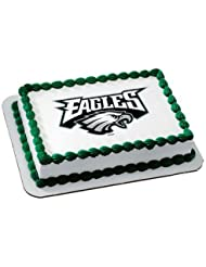 Philadelphia Eagles Licensed Edible Cake Topper #4577