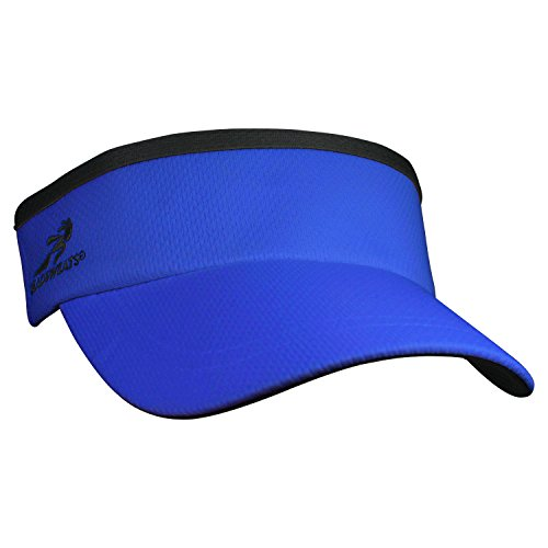 Royal Visor - Headsweats Supervisor Sun/Race/Running/Outdoor Sports Visor, Royal, One Size