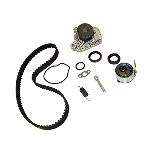 (DNJ TBK220WP Timing Belt Kit with Water Pump for 2001-2005 / Honda / Civic / 1.7L / SOHC / L4 / 16V / 1668cc, 1700cc / D17A1, D17A2, D17A6, D17A7 )