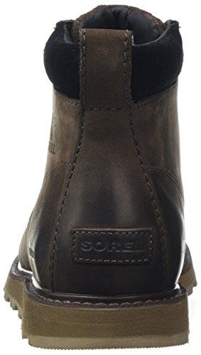 Hombre Marrón Black 238 Botas Sorel Impermeables bruno Para Madson Toe Waterproof Moc Sq8C0w