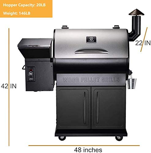 Z GRILLS Wood Pellet Grill and Smoker Perfect for Your Apartment Balcony