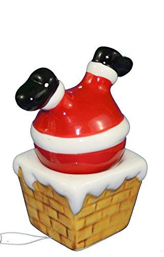 - Santa in Chimney Salt and Pepper Shaker