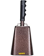10 Inch Steel Stick-handled Cowbell
