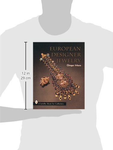European Designer Jewelrya Schiffer Book for Collectors Ginger