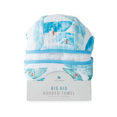 Little Unicorn Large Cotton Hooded Towel - Surf by Little Unicorn (Image #1)