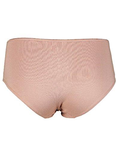 RJ Traditional Bodywear 30-013 Women's The Good Life Sand Beige Lyocell Cotton Underwear Hipster