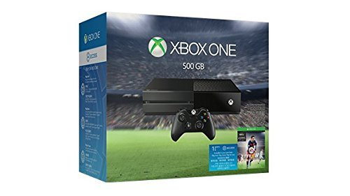 Xbox One 500GB Console – EA Sports FIFA 16 Bundle