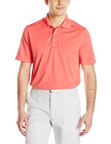 Callaway Mens Short Sleeve Opti-Dri Micro Pique Chev Polo
