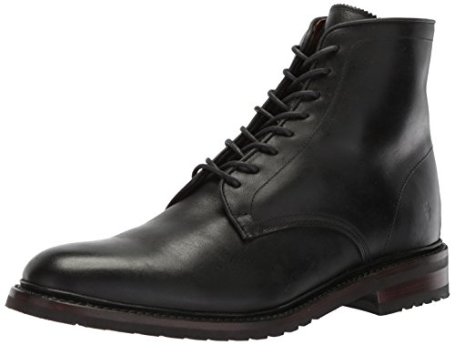 FRYE Men's Jones LACE UP Ankle Bootie, Black, 7 M ()