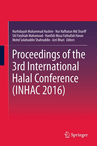 Proceedings of the 3rd International Halal Conference (INHAC 2016) by Springer