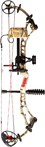 PSE Bow Madness XL Package Right Hand Bow, 60-Pound, Mossy...