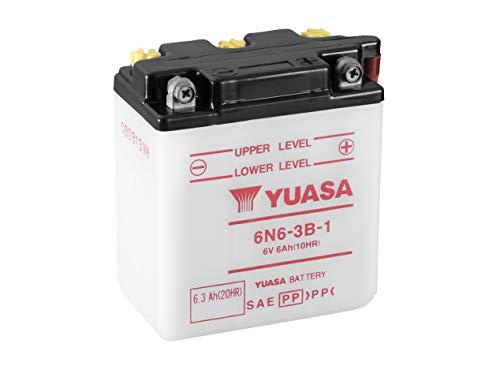 YUASA Batterij 6N6-3B-1 open zonder saeure