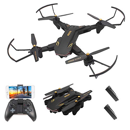 Cheap Goolsky VISUO XS809S 2.0MP Wide Angle Camera Wifi FPV Foldable Drone One Key Return Altitude Hold G-sensor Quadcopter w/One Extra Battery