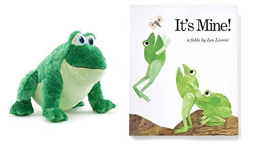 It's Mine Plush Frog and Book (Care Of Frogs)