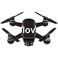 Skin For DJI Spark Mini – Love 2 | MightySkins Protective, Durable, and Unique Vinyl Decal wrap cover | Easy To Apply, Remove, and Change Styles | Made in the USA