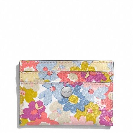 Peyton Floral Card Case