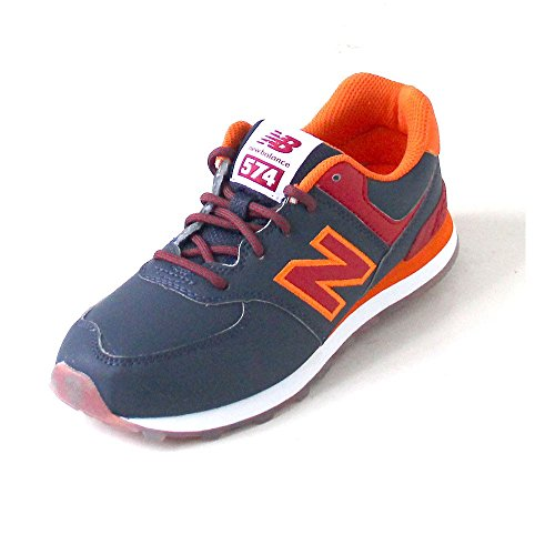 New Balance 574 navy/red azul