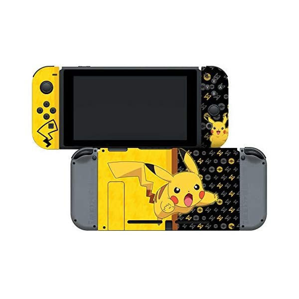 Controller Gear Nintendo Switch Skin & Screen Protector Set - Pokemon - Pikachu Set 1 - Nintendo Switch 6