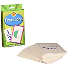 Brighter Child Flash Cards:Fractions