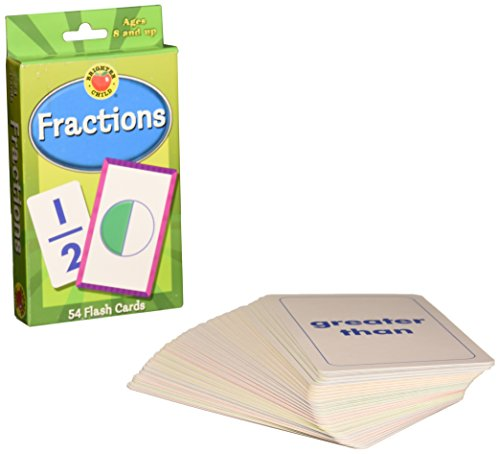 Fractions Flash Cards (Brighter Child Flash Cards)