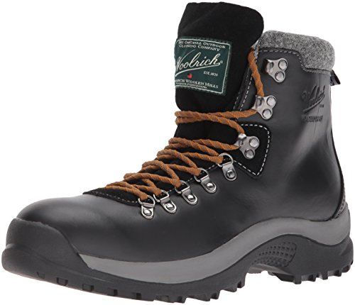 Woolrich Men's Trail Stomper Winter Boot, Black, 9.5 M US (Best Bed Liner For The Money)