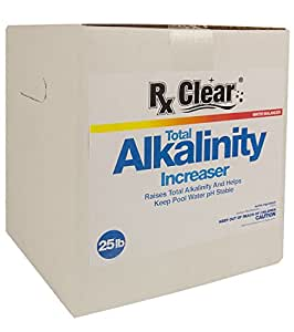 RX Clear Swimming Pool Alkalinity Plus (25 lbs)