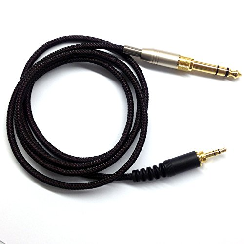 1.5m NEW Replacement Audio upgrade Cable For Audio Technica ATH-PRO500MK2 ATH-PRO700MK2 headphone